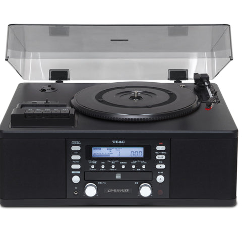 TEAC - LPR 550 TURNTABLE, CD,CASSETTE, INTEGRATED SYSTEM BLACK - dogoodaudio - 1
