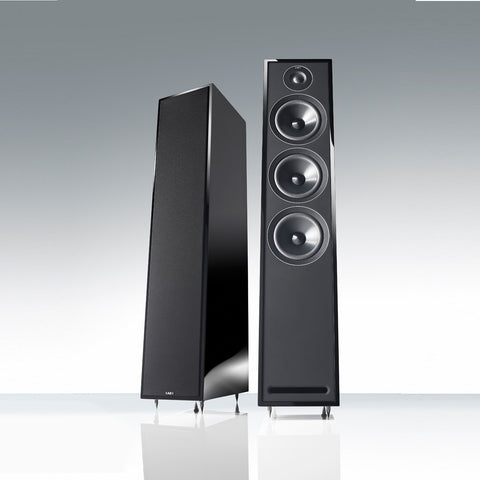 Acoustic Energy - 3 Series - 305 Floorstanding Hi-Fi Loudspeakers - Black Finish - Do Good Audio