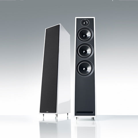 Acoustic Energy - 3 Series - 305 Floorstanding Hi-Fi Loudspeakers - White Finish - Do Good Audio