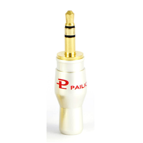 PAILICCS Gold Plated 3.5 mm Stereo Jack Plug Connector - dogoodaudio - 1