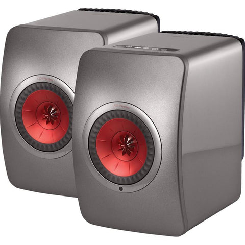 KEF - LS50 Wireless Active Speakers #1