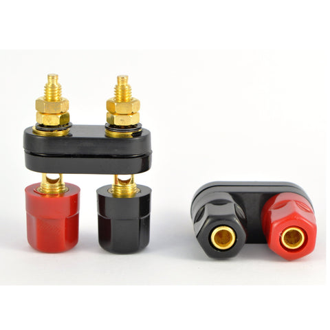 VALUE - Double Gold Plated Binding Post Connectors - dogoodaudio - 1