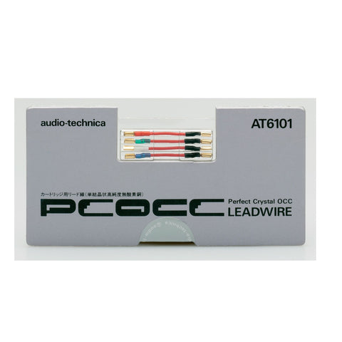 Audio Technica AT6101 PCOCC Quality Headshell Cartridge WIRES - Do Good Audio