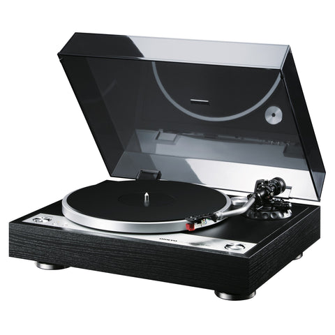 ONKYO CP-1050 - DIRECT DRIVE TURNTABLE BLACK , RECORD PLAYER - dogoodaudio - 1