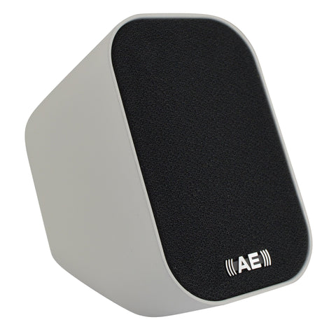 Acoustic Energy AEGO M Single Speaker Satellite Kit With Cable - White or Black - Do Good Audio