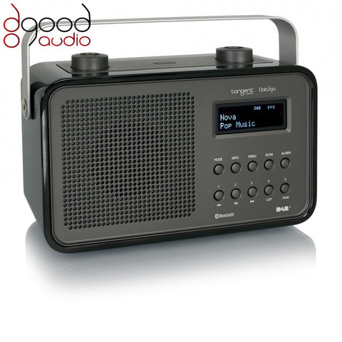 TANGENT DAB2GO BLUETOOTH DAB+ RADIO AND BLUETOOTH SPEAKER MUSIC SYSTEM - BLACK - dogoodaudio - 1