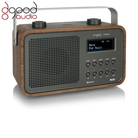 TANGENT DAB2GO BLUETOOTH DAB+ RADIO AND BLUETOOTH SPEAKER MUSIC SYSTEM - WALNUT - dogoodaudio - 1