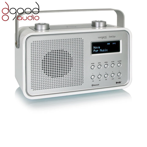 TANGENT DAB2GO BLUETOOTH DAB+ RADIO AND BLUETOOTH SPEAKER MUSIC SYSTEM - WHITE - dogoodaudio - 1