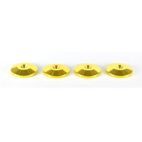 GOLD COLOURED ISOLATING SPIKE PADS / SHOES - Do Good Audio