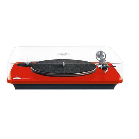 ELIPSON - OMEGA 100  RIAA- BELT DRIVE TURNTABLE WITH PREAMP red - Do Good Audio