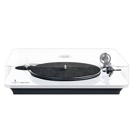 ELIPSON - OMEGA 100  RIAA- BELT DRIVE TURNTABLE WITH PREAMP white - Do Good Audio