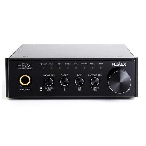 FOSTEX HPA-4 24 BIT DAC & HEADPHONE AMPLIFIER - Do Good Audio