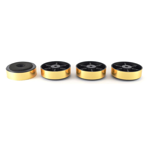 47MM GOLD Plastic / Foam EQUIPMENT FEET - Do Good Audio