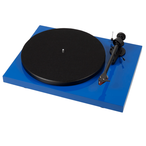 Pro-Ject Debut Carbon DC Belt Drive Turntable - Gloss Blue - dogoodaudio - 1