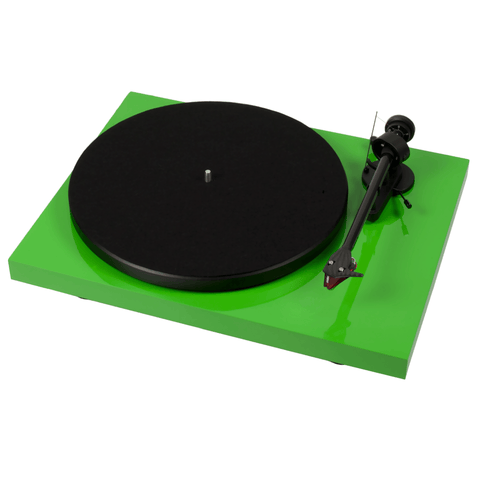 Pro-Ject Debut Carbon DC Belt Drive Turntable - Gloss Green - dogoodaudio - 1