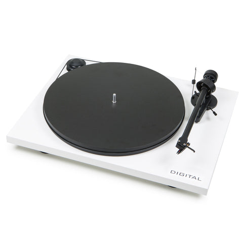 Pro-Ject Essential II Digital Belt Drive Turntable (WHITE) - dogoodaudio - 1
