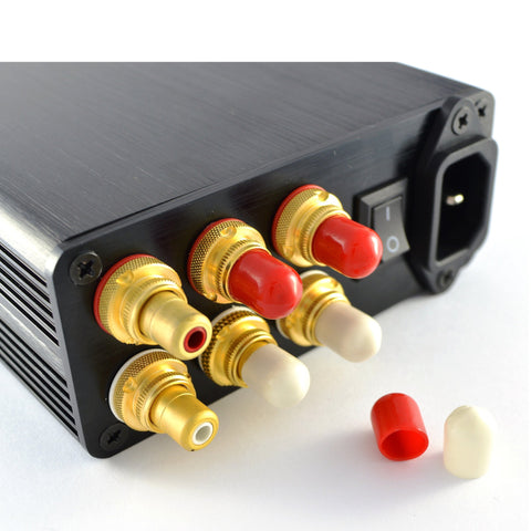 Silicone RCA Socket Dust Caps - Protect Unused Hi-Fi RCA Sockets From Oxidation - dogoodaudio - 1