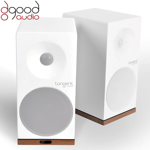 TANGENT SPECTRUM X5 ACTIVE BLUETOOTH WIRELESS SPEAKERS WHITE FINISH - dogoodaudio - 1