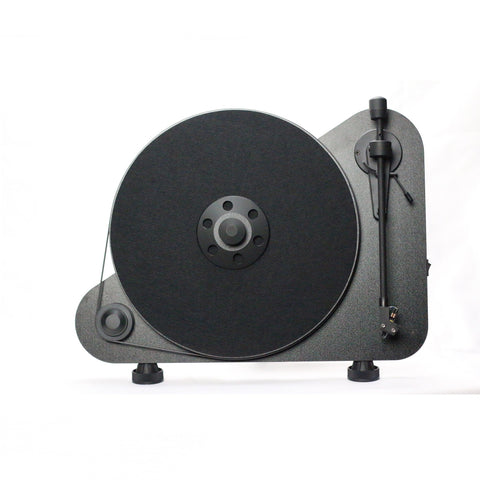 PRO-JECT - VTE VERTICAL BELT DRIVE TURNTABLE - BLACK - dogoodaudio - 1