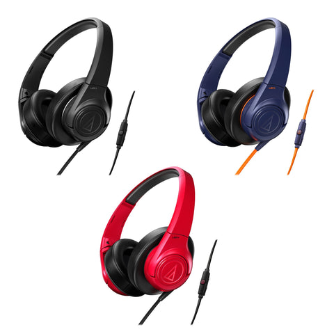 Audio Technica ATH AX3iS Sonic Fuel Headphones With Mic For Smart Phones - Do Good Audio