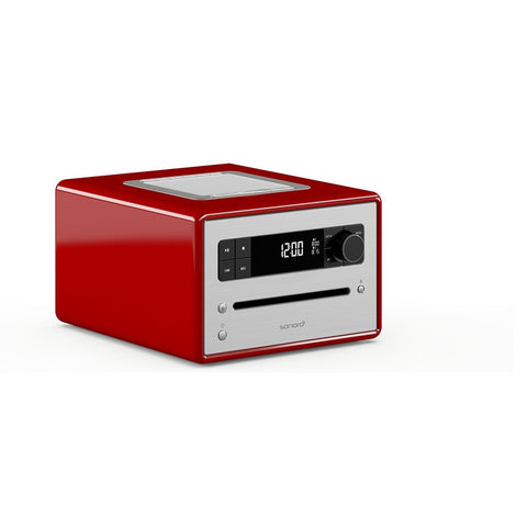 Sonoro CD-2 - CD Player, DAB, stereo music system red - dogoodaudio - 1