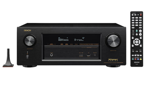 DENON AVR-X3300W - 7 X 180W, 4K ULTRA HD NETWORK AV RECEIVER WITH WI-FI AND BLUETOOTH #1