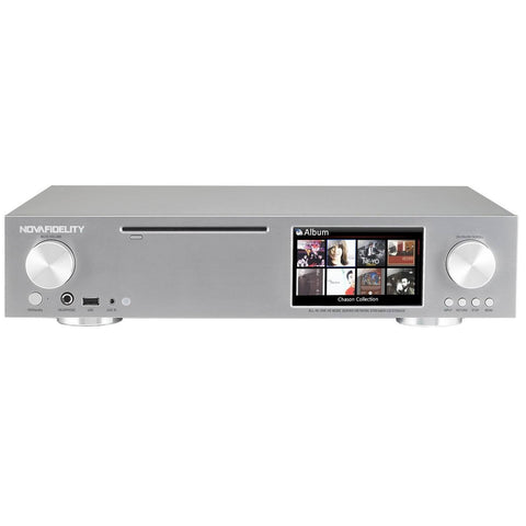 NOVAFIDELITY - X30 -  HOME ENTERTAINMENT - NETWORK MUSIC STREAMING SYSTEM - dogoodaudio - 1