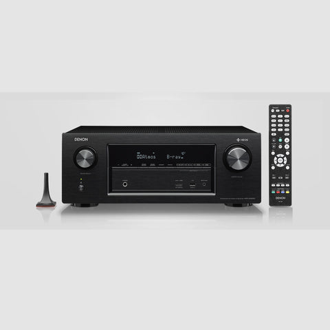 DENON AVR-X2400H - 7.2 CHANNEL AV SURROUND RECEIVER WITH HEOS#1