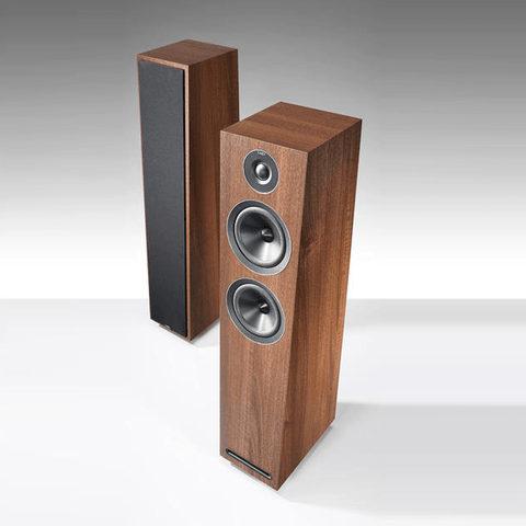Acoustic Energy 103 Floorstanding Hi-Fi Loudspeakers - Walnut Finish - Do Good Audio