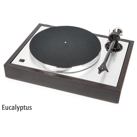 PRO-JECT - THE CLASSIC, Belt Driven Turntable, Walnut, Rosenut or Eucalyptus - dogoodaudio - 1