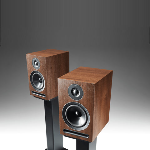 Acoustic Energy 101 Standmount Loudspeakers - Walnut Finish - Do Good Audio