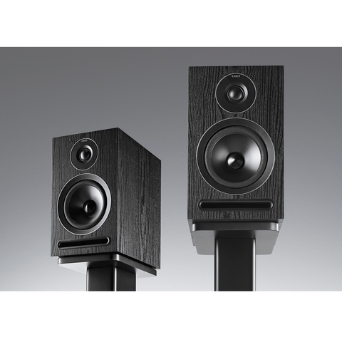 Acoustic Energy 101 Standmount Loudspeakers - Black Ash Finish - Do Good Audio