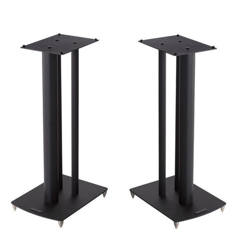 Mission STANCETTE Speaker Stands Black Finish, With Spikes 590mm Tall - Do Good Audio