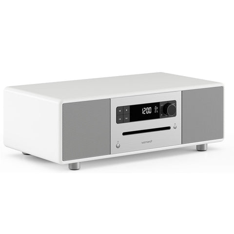 SONORO DESIGN SO-310  -  HOME ENTERTAINMENT - BLUTOOTH STREAMING MUSIC SYSTEM WHITE - dogoodaudio - 1