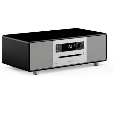 SONORO DESIGN SO-310  -  HOME ENTERTAINMENT - BLUTOOTH STREAMING MUSIC SYSTEM  MATT BLACK - dogoodaudio