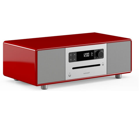 SONORO DESIGN SO-310  -  HOME ENTERTAINMENT - BLUTOOTH STREAMING MUSIC SYSTEM RED - dogoodaudio - 1