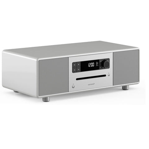 SONORO DESIGN SO-310  -  HOME ENTERTAINMENT - BLUTOOTH STREAMING MUSIC SYSTEM SILVER - dogoodaudio - 1