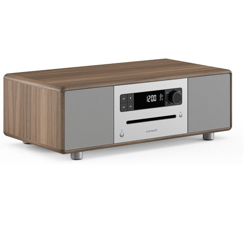 SONORO DESIGN SO-310  -  HOME ENTERTAINMENT - BLUTOOTH STREAMING MUSIC SYSTEM WALNUT - dogoodaudio - 1