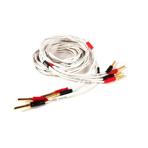 BLACK RHODIUM - TWIST - AWARD WINNING, TERMINATED GOLD Z PLUGS, SPEAKER CABLE - Do Good Audio