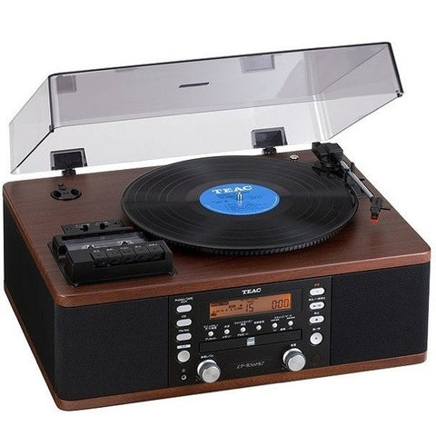 TEAC - LPR 500 TURNTABLE, CD,CASSETTE, INTEGRATED SYSTEM WALNUT - dogoodaudio - 1