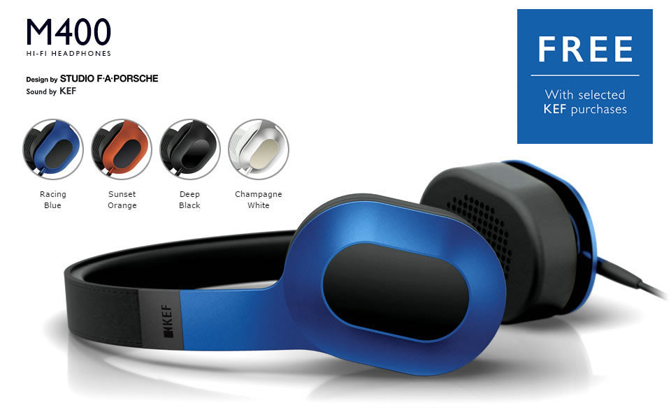 KEF M400 headphone offer