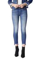 7 FOR ALL MANKIND Skinny Jean with Step Hem