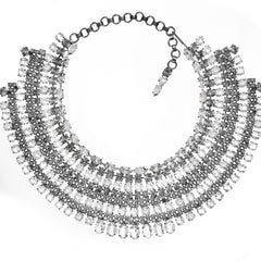 ALAN ANDERSON Crystal Collar Necklace