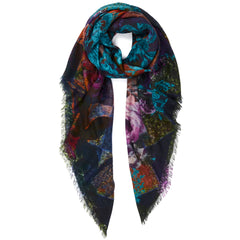 JANE CARR Harlequin Square Scarf