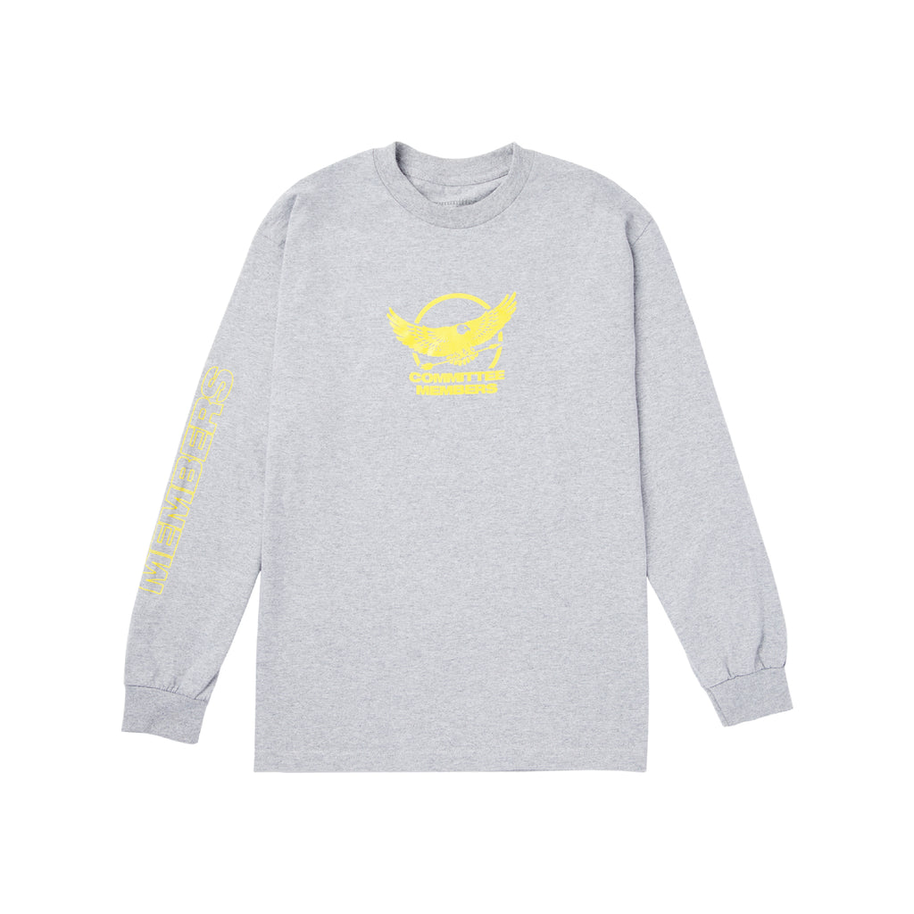 Falcon Long Sleeve Tee - Grey