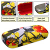 Yellow Tulip Hard Eyeglasses Case with Cleaning Cloth by Rust & Violet (AS126)