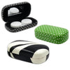 Contact Lenses Case with Stylish Holder & Mirror | PACK OF 3 Mixed Zebra Polka Dots Green & Black