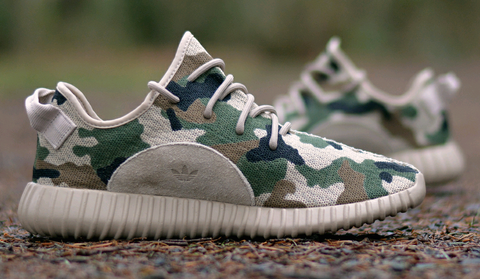 CUSTOM CAMO YEEZY BOOST