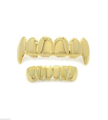 18K Fang Grill (top and bottom)