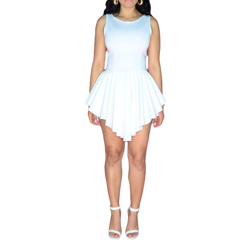 FLARED EMPIRE PARTY DRESS